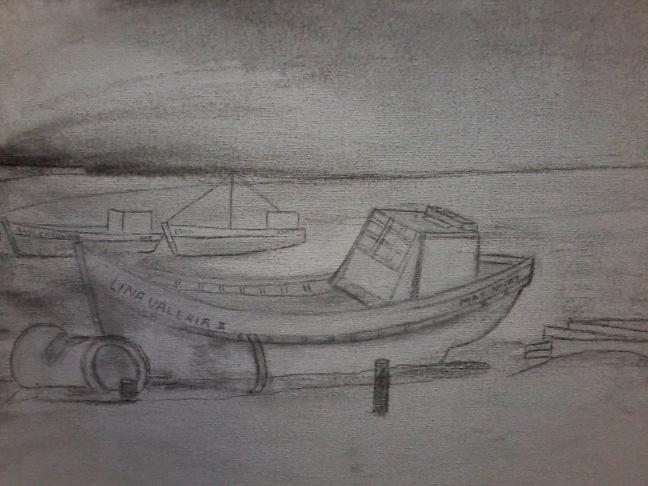 boats at P.del Diablo´s beach